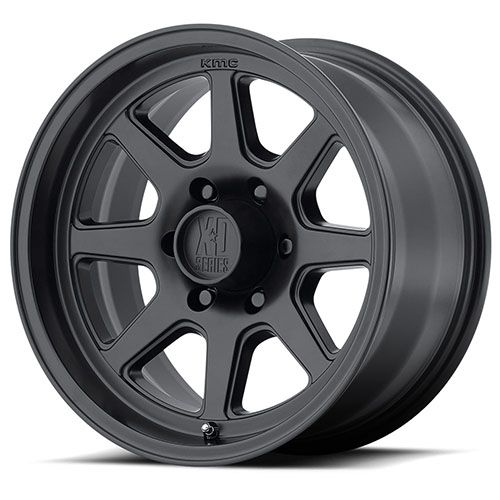 XD Series by KMC Wheels XD301 Turbine Satin Black