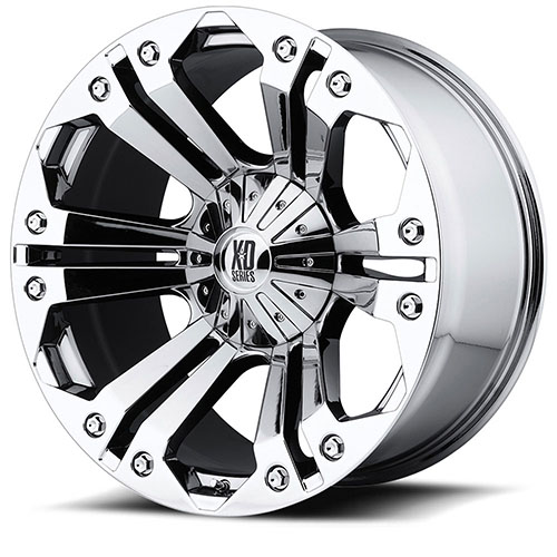 XD Series by KMC Wheels XD778  Monster Chrome Plated