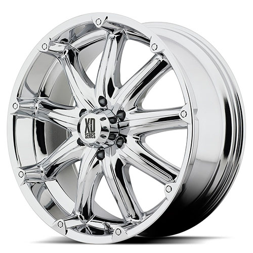 XD Series by KMC Wheels XD779  Badlands Chrome Plated