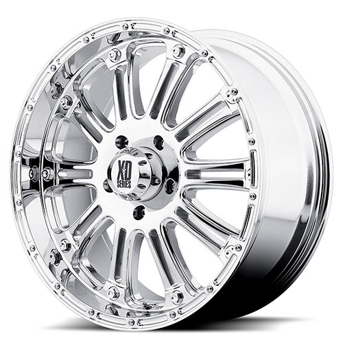 XD Series by KMC Wheels XD795  Hoss Chrome Plated
