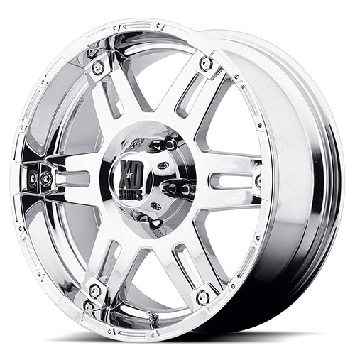 XD Series by KMC Wheels XD797  Spy Chrome Plated