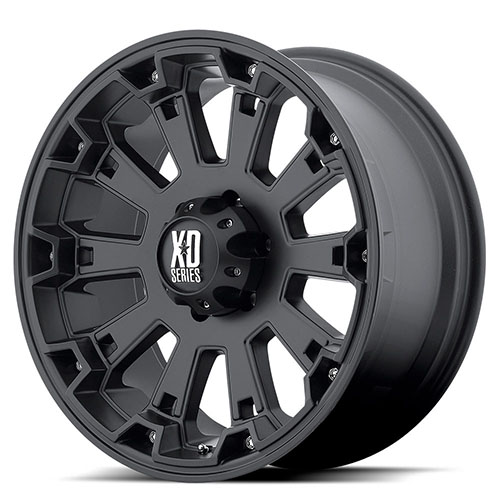 XD Series by KMC Wheels XD800  Misfit Matte Black