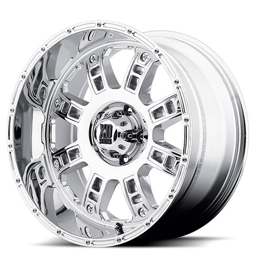 XD Series by KMC Wheels XD809  Riot Chrome Plated
