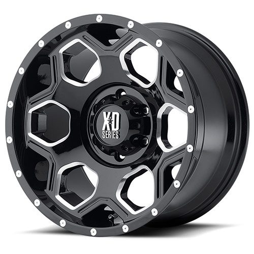 - Wheel Specials - XD Series Wheels XD813 G-Blk/Mill