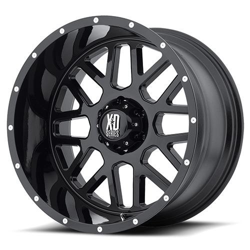 XD Series by KMC Wheels XD820 Grenade Satin Black