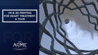 Virtual Reality and 3D Printing for Heart Treatment: A Tour