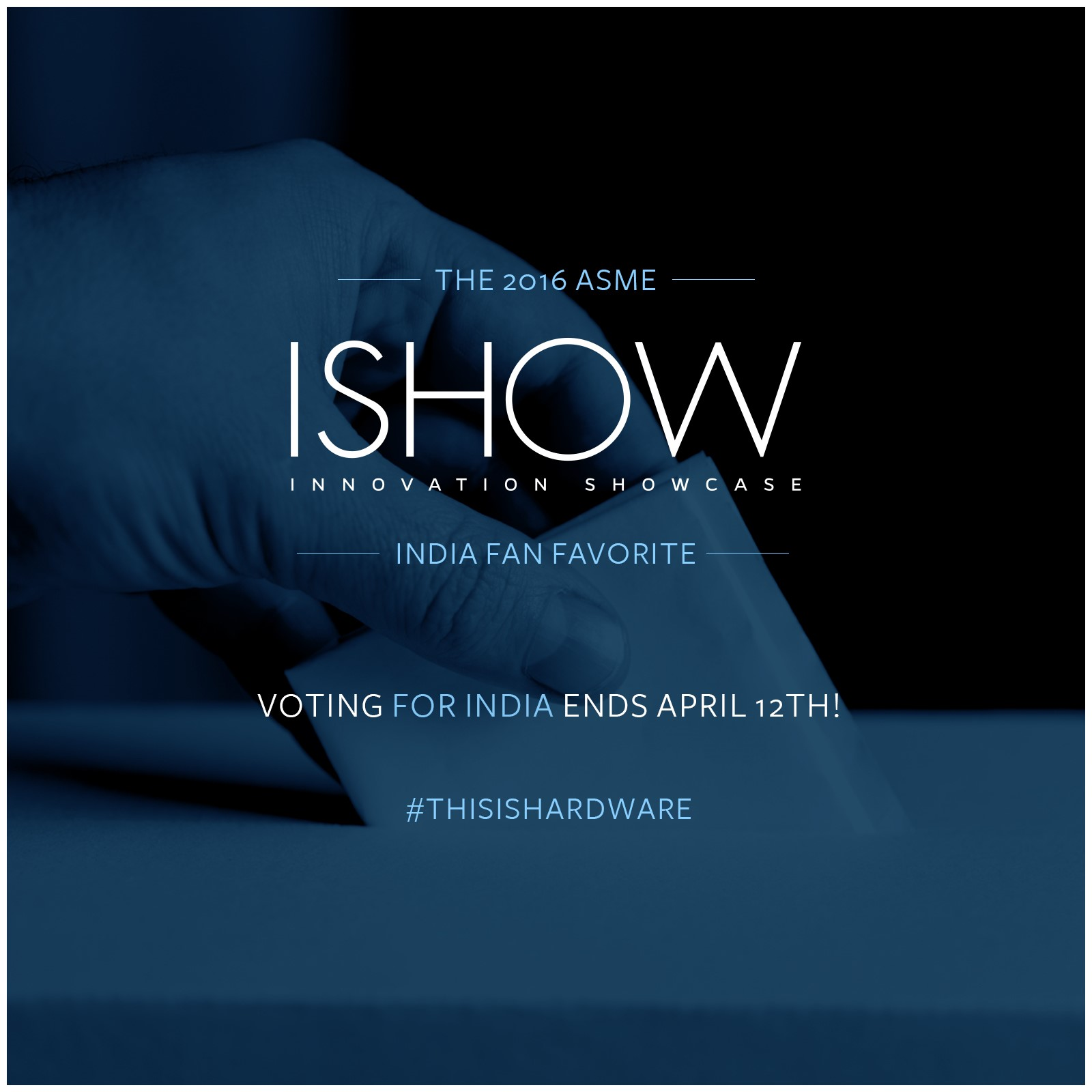 Vote for your favorite ISHOW India Finalist