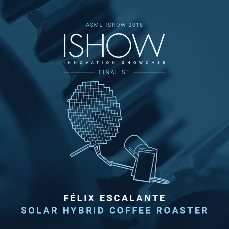 Solar Hybrid Coffee Roaster