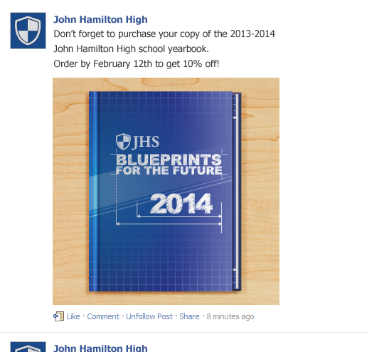 Using Facebook To Marketing Your School Yearbook