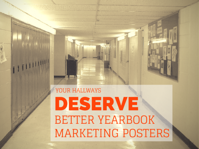 yearbook marketing posters