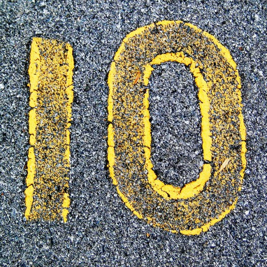 These lists will score a 10 out of 10 with students. Photo credit: Flickr CC user Woodleywonderworks