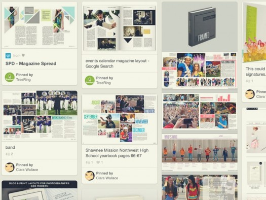 We spent hours on Pinterest finding the best magazine design ideas that you can apply to your yearbook page layouts.