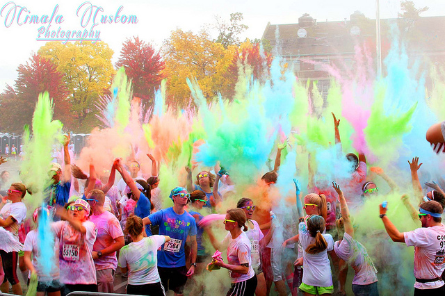 Diversify from the typical school colors. Add some vibrancy and interest to your yearbook!