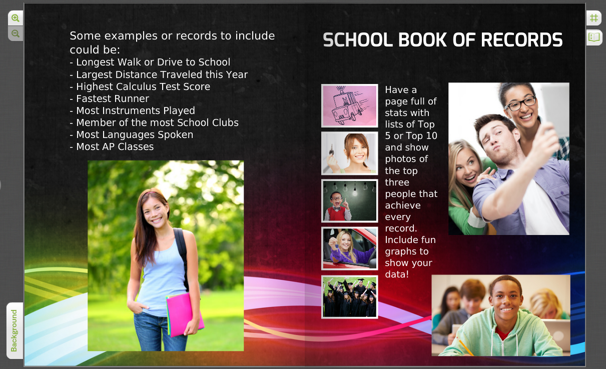 The Best and the Weridest: Add School Records to Your Yearbook