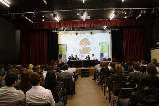 You can learn so much from guest speakers visiting your campus. Photo credit: Flickr CC user National Assembly for Wales
