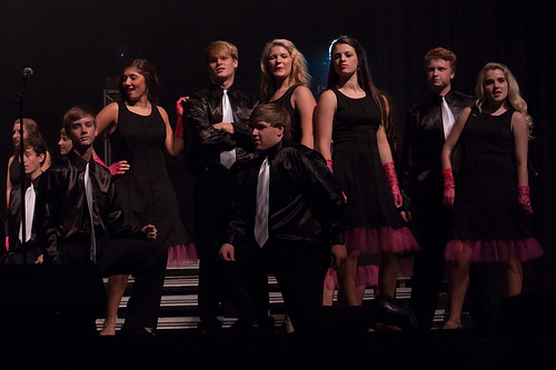 Get your Glee on with a show choir spread. Photo credit: Flickr CC user Misty O'Dell