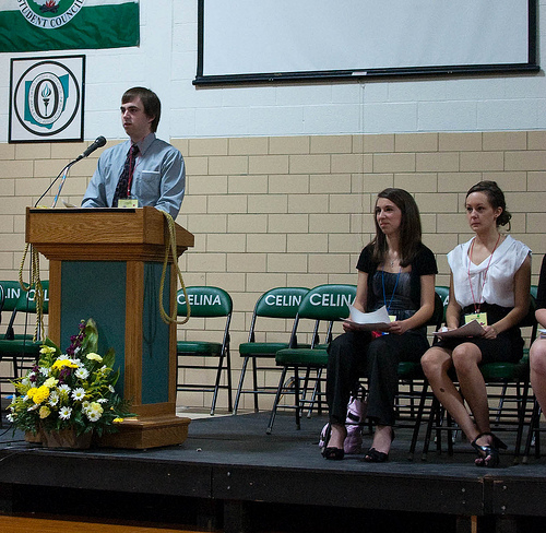 Student council leaders today are world-class leaders tomorrow. Photo credit: Flickr CC user: Dan Fornal