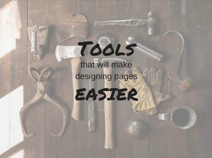 design-tools easier