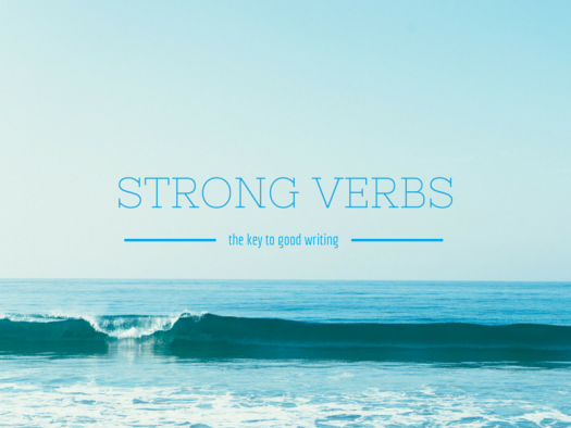 strong yearbook verbs