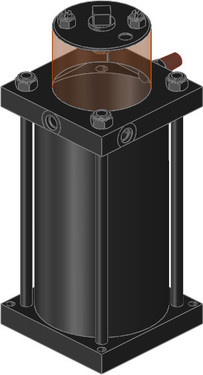 The Destaco 70101 Series pressure converter takes compressed air from the mains and converts it into hydraulic high pressure. Without this conversion, many clamping problems cannot be solved at all or only at high costs.