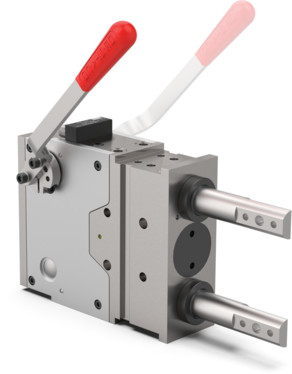 These pin packages are designed for the accurate positioning of workpieces in jigs, helping ensure that the piston rod is locked in the extracted position and that it can be used for cases of counter supporting for clamps.