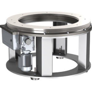 The CAMCO Ring Drive offers easy-to-integrate automation that fits into your operations. Minimize machine footprint: Mount your equipment inside the through-hole of the CAMCO Ring Drive.