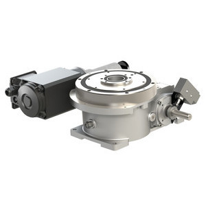 The CAMCO RDM Series Index Drive is ideal for rotary dial applications. These models feature a large output mounting surface that's supported by 4-point contact bearing that offers superior thrust and moment capacity.