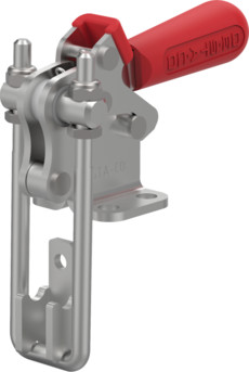 Destaco's 334-R Series pull action latch clamps are equipped with latch plate and patented thumb control lever for one handed operation.