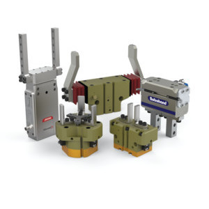 Parallel grippers open and close parallel to the object it is handling while angular grippers move their jaws wider than parallel jaws and require more space.