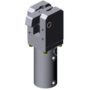 These power clamps are used where a high clamping force is needed, combined with small clamp dimensions.