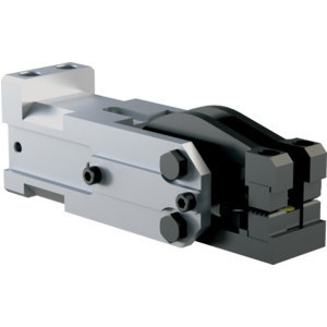 This light-duty, modular cam-style pressroom gripper is self-locking and can be used vertically or horizontally. It's available in a range of opening angles for the upper and lower jaws.