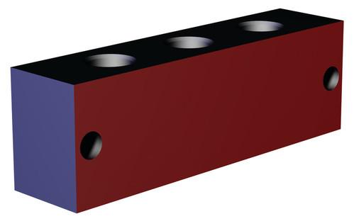 Destaco's CPI-MMB-4V2B-G Series block mounted manifolds feature an aluminum design.