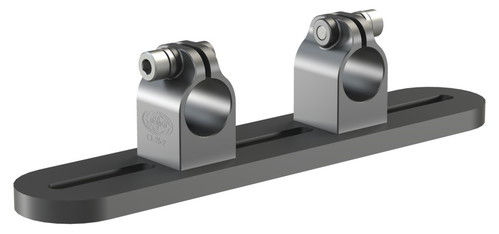 Destaco's TPA Series of lightweight, transfer press adapters mount directly to removable, tri-axis transfer press rail extrusions.