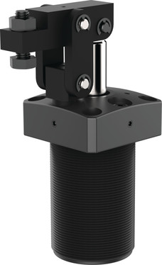 Destaco's 8700 Series pneumatic lever clamps are designed for long life and feature a hard coated aluminum body.