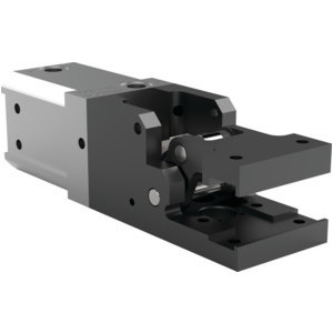 This medium-duty, modular cam-style pressroom gripper is non-locking and can be used vertically or horizontally.