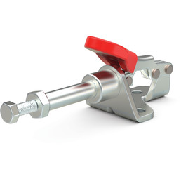 Destaco's 601 Series straight line action clamps are compact models that are available in stainless steel.