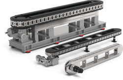 Destaco's heavy duty, prevision link conveyors are available in over/under and carousel configurations.