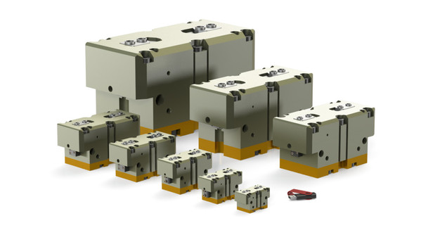 Rugged, Multi-purpose Parallel Grippers for Heavy Parts – RDH Series