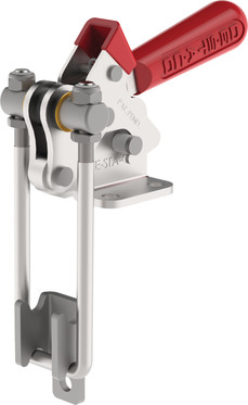 Destaco's 344-R Series pull action latch clamps are equipped with latch plate, U-hook design, and Toggle Lock Plus capability.