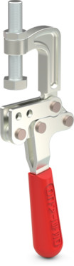 Destaco's 325 Series squeeze action plier clamps are designed for attachment by welding or using mounting holes and are available in stainless steel.