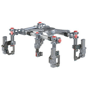 RM4 - 60mm Heavy Duty Mid Mount Assembly with Robot Interface Pattern