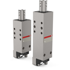 Designed for the accurate positioning of sheet metal parts in welding equipment and handling systems.