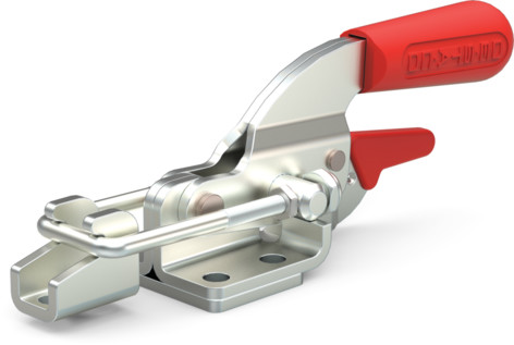 Destaco's 331 Series pull action latch clamps are equipped with latch plate and patented thumb control lever for one handed operation.