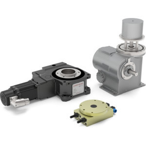 Camco offers a range of high performance servo positioners for light to heavy duty applications. All of the series feature large center thru-holes and zero backlash mechanisms.