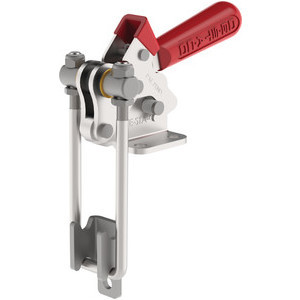 Destaco's 324, 334, 344 and 374 Series pull action latch clamps are equipped with patented thumb control lever for one handed operation.