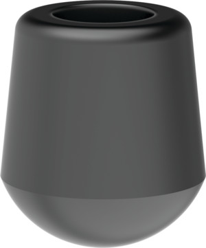 Destaco's special neoprene caps are designed for slipping on threaded spindle rods.