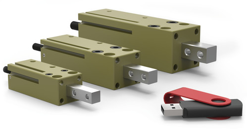 Destaco's RN-12M Series of feed escapements are designed with a single finger for in-line part ejection or staging.
