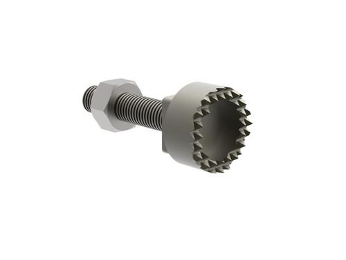 Destaco's 8JD-1004-1 Series serrated sensor tips are designed for sheet metal grippers.