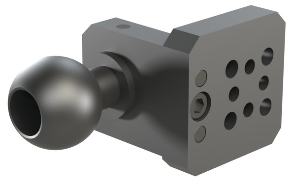Destaco's GT Series of gripper mounts feature connect sheet metal grippers to a tri-axis transfer press tool.