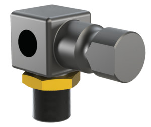 Port only adapters for lightweight tooling are designed to mount vacuum cups to an end effectors frame.